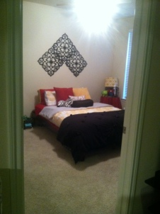 I always got pictures of the clean room...could be the only one all year:)