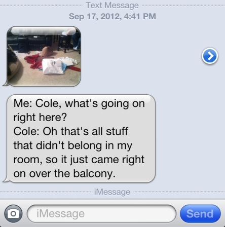 Yep...they are in college and I get TattleTexts!