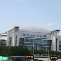 Klein Oak holds graduation at Reliant Stadium...pretty cool.