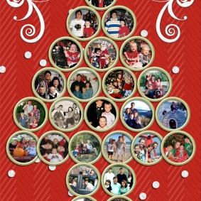 Twenty Five Christmas Card Photos